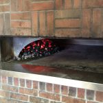 Coal Fire Oven at Tomatoes Apizza